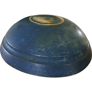 19th Century Beautiful Blue Bowl