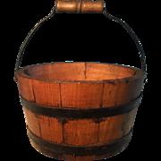 19th Century Butter Bucket