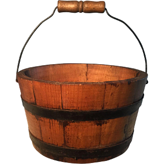 19th Century Butter Bucket
