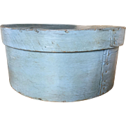 19th Century Robins Egg Blue Pantry - From Stack