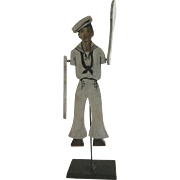 Wonderful 19th Century Sailor Whirly-Gig