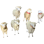 Collection of 19th Century Sheep - Large