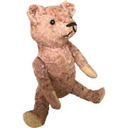"""Pinky"" Early 1910-30 Mohair Jointed Teddy Bear"