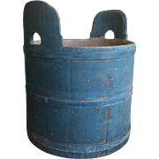 Beautiful Blue Barrel - Fabulous, signed