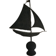 1900 Sailboat Weathervane