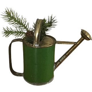 Small Green Child's Watering Can 1920