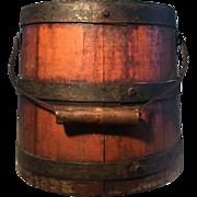 19th Century Small Firkin - Attic Finish - Never had lid
