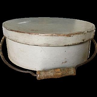 Wonderful 19th Century Pantry - Rare Size, Off White