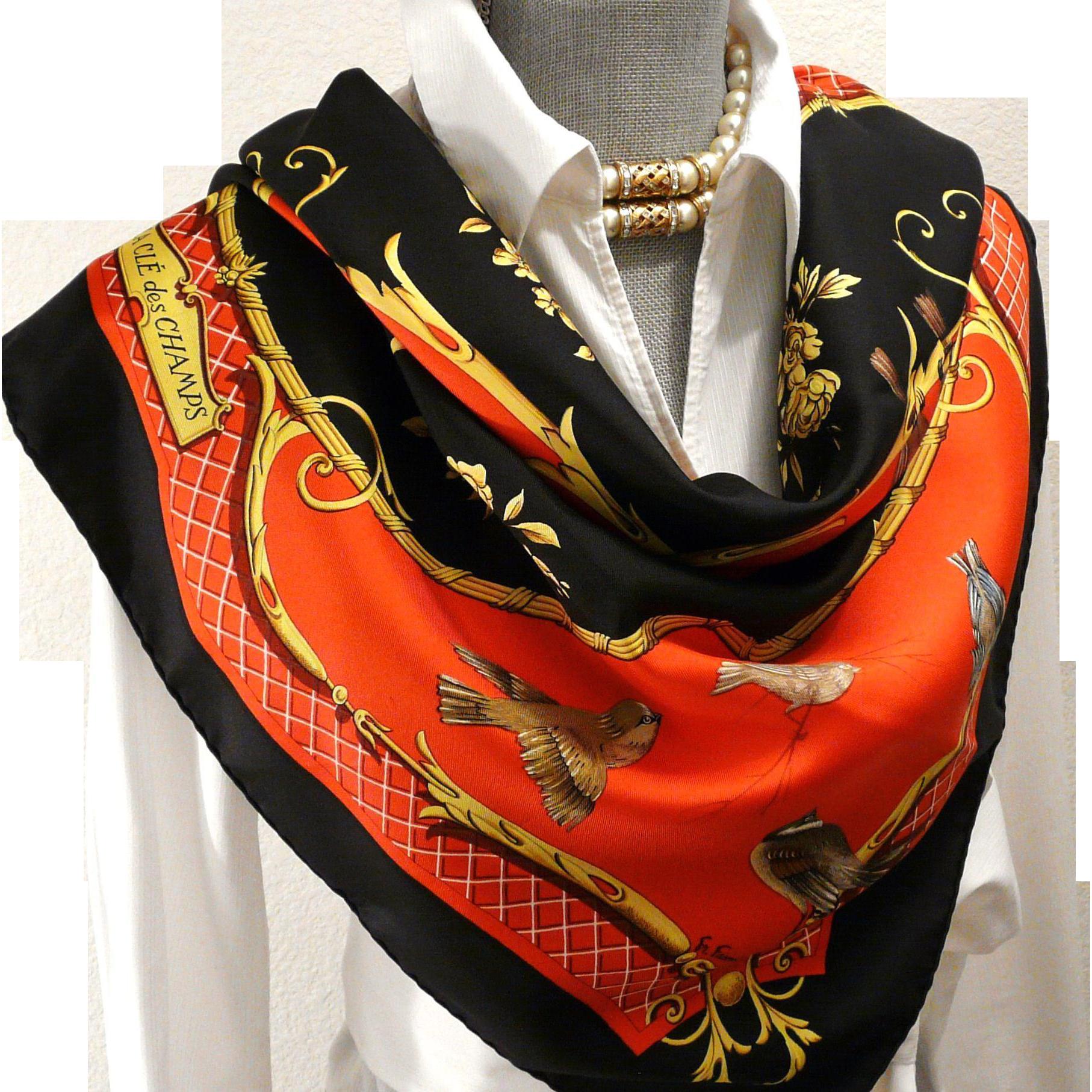 dating hermes scarves