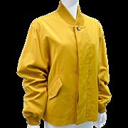 Vintage Hermes Mens Windbreaker Jacket Made In France Size 48