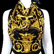 Authentic Vintage Hermes Silk Scarf Les Tuileries Joachim Metz Unworn