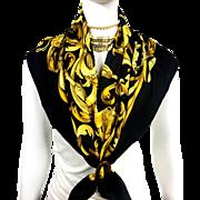 Authentic VTG Hermes Silk Scarf Le Mors a la Conetable