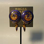 Earrings: Edgar Berebi Vintage Earrings Never Worn