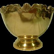 Brass Bowl 1 quart size