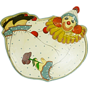 Paper Mache Tray Hand Painted