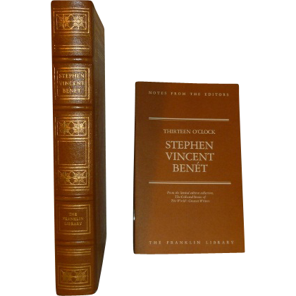 an analysis of the story by stephen vincent benet Quick summary the short story by the waters of babylon is set in a future following the  at a glance author: stephen vincent benét first published.