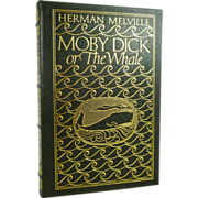 Moby Dick, Herman Melville Easton Press Leather Bound,