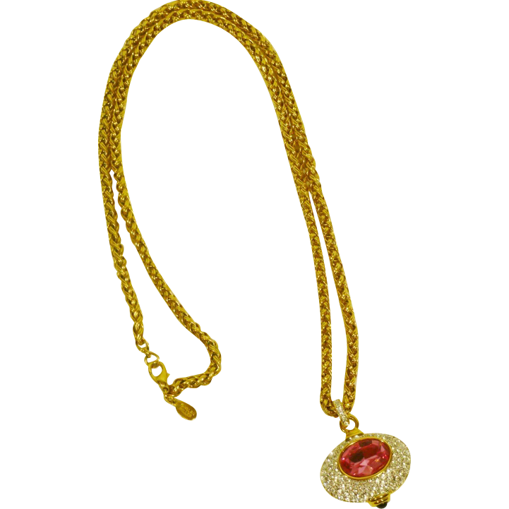 nolan miller necklace vintage designer jewelry from