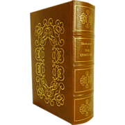 Shakespeare The Comedies Leather Bound Easton Press