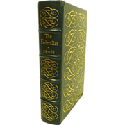 The Federalist 1787-1788 Leather Bound Easton Press Collectors Edition