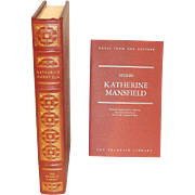 Mansfield, Katherine, Short Stories Franklin Library Leather Bound