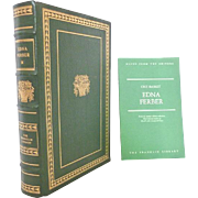 Edna Ferber Franklin Library Leather Bound Books