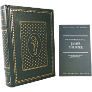 James Thurber, Leather Bound Franklin Library The Thurber Carnival