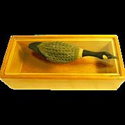 Mid Century Modern Trinket Box: Dresser box