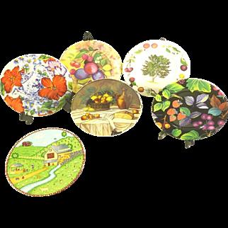 5 Limoges Salad/Desert Plates plus 1 Sango St Marino