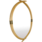Faux Tusk Mirror by Chapman