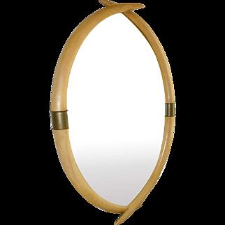 Faux Tusk Mirror by Chapman