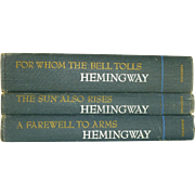 Ernest Hemingway 3 Book Collection