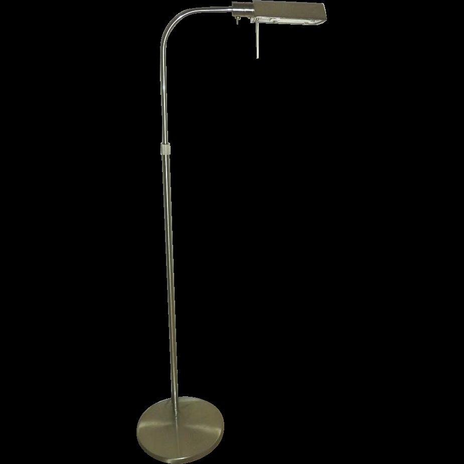 Mid Century Modern Sonneman Floor Lamp From