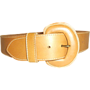 Cipriani Unisex Leather belt