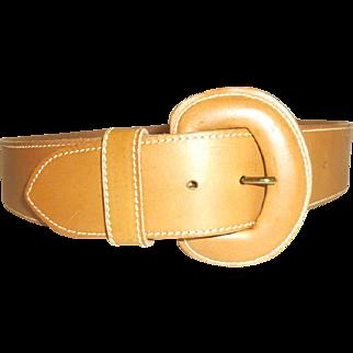 Cipriani Unisex Leather belt