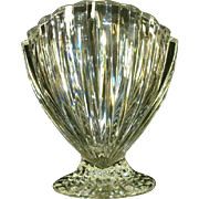Waterford Marquis Crystal Nautic Shell Vase