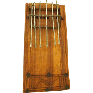 South African Mbira or Thumb Piano