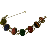 wRe Richard Sterling and Scarab Bracelet 1950's