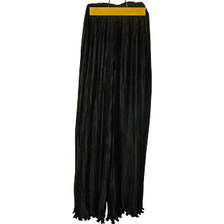 George .F Couture  Accordion Pleated Skirt/Pants Vintage