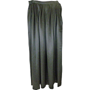Ralph Lauren Silk Long Skirt Size 6