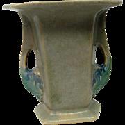 Roseville Two Handled Tuscany Art Pottery Vase