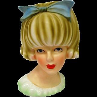 Doris Day Stunning Large Head Vase