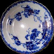 Flow Blue Virginia Pattern Plate