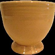 Vintage Ivory Fiesta Footed Egg Cup Fiestaware