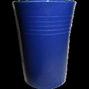 Vintage Fiesta Cobalt Blue Juice Tumbler, Fiestaware