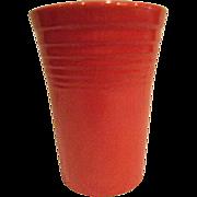 Vintage Fiesta Red Water Tumbler Fiestaware