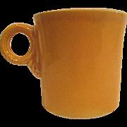 Vintage Fiesta Yellow Mug, Fiestaware