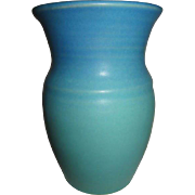Van Briggle Blue Green Signed Vase