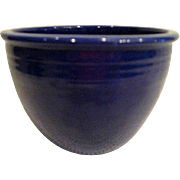 Vintage Fiesta Cobalt Blue #2 Mixing Bowl Fiestaware