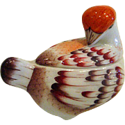 Hand Painted Herend Bird Covered Trinket Box - Red Tag Sale Item
